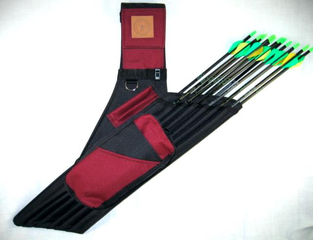 Double Cargo Galaxy Quiver archery, quiver, bow and arrow,arrow, dozen, sleeves, individual,pouch,double,galaxy,shooting star