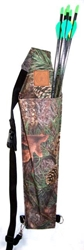 Adult Back Quiver Quiver, back, arrows, bag, tube, holder
