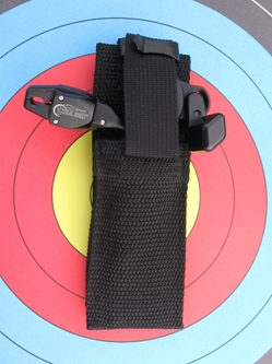 Release Belt Sheath target, release, archery, spot hogg, stanslowski, carter, trigger, bow hunter